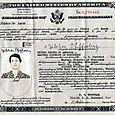 Oma Julchen's naturalization paper.