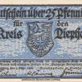 Diepholz Banknote; 25 Pfennig