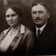 My Oma Dina and my grandfather Adolph Samenfeld