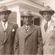 Uncle Louis with my father and Uncle Walter, Sept. 1950.