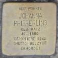Johanna (geb Katz) Pfifferling; Eisenach