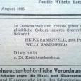 Gerd Samenfeld: 2 Aug 1962