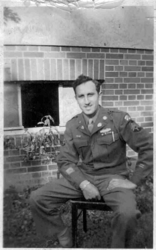 My father, Sept. 1945
