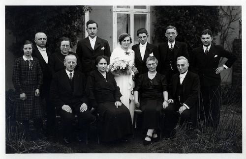 Wedding of Walter and Irma Jacobsohn