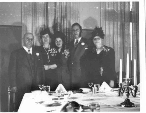 Wedding of Erich and Hildegard Samenfeld