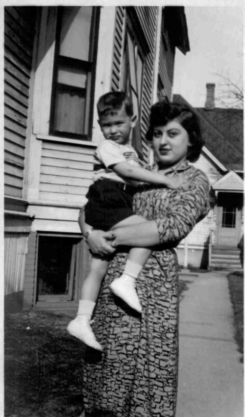 Tante Lore with me, 1952.