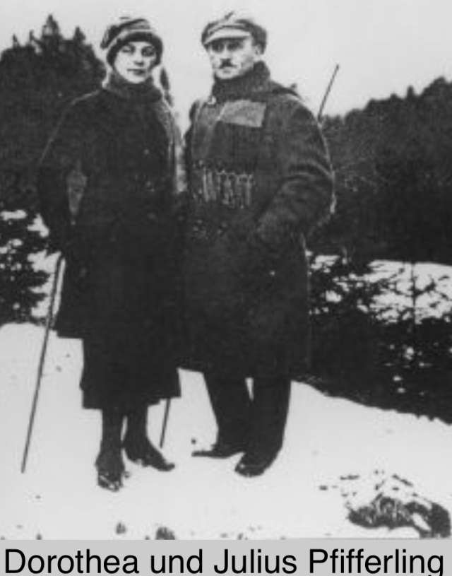 Julius & Dorthea (Kahn) Pfifferling