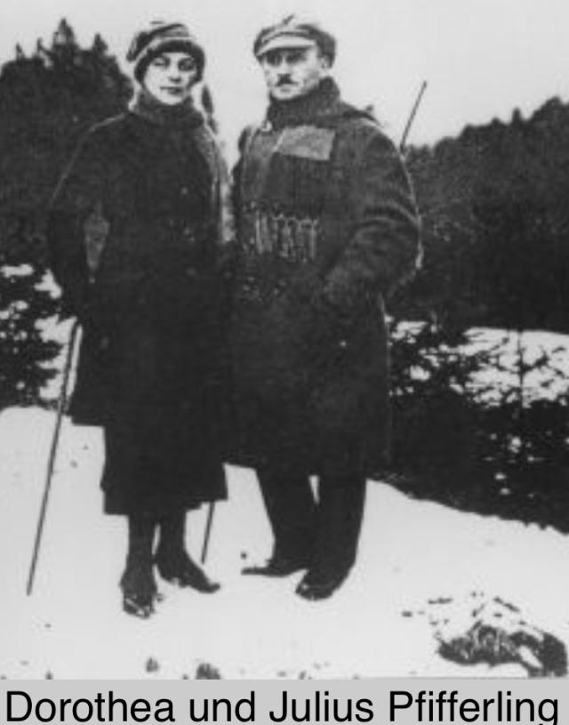 Julius & Dorthea (Kahn) Pfifferling
