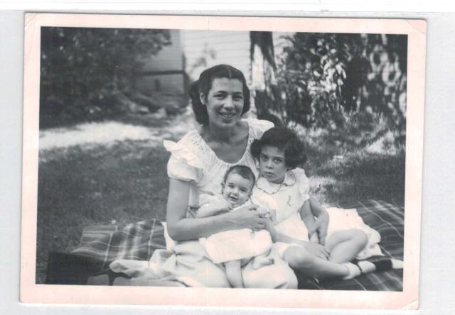 Margot Baer with Sandy & Joanne