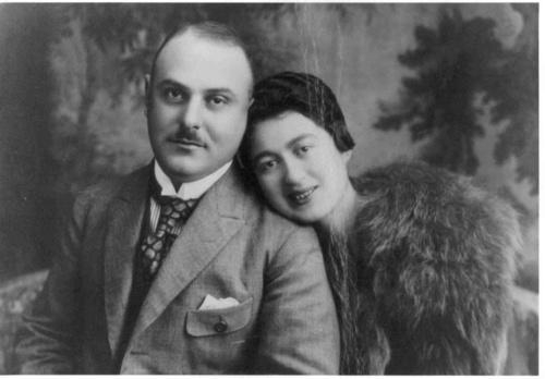 Opa Karl and Oma Julchen, 1921.